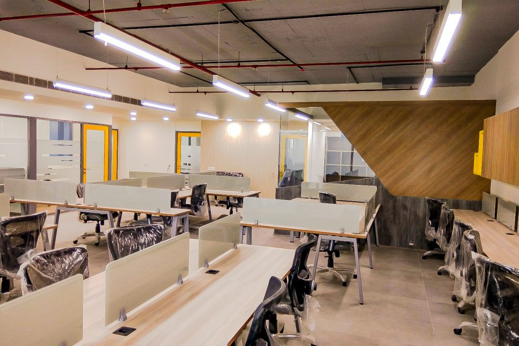 Corporate Interiors Soft Cell World Trade Towers Noida