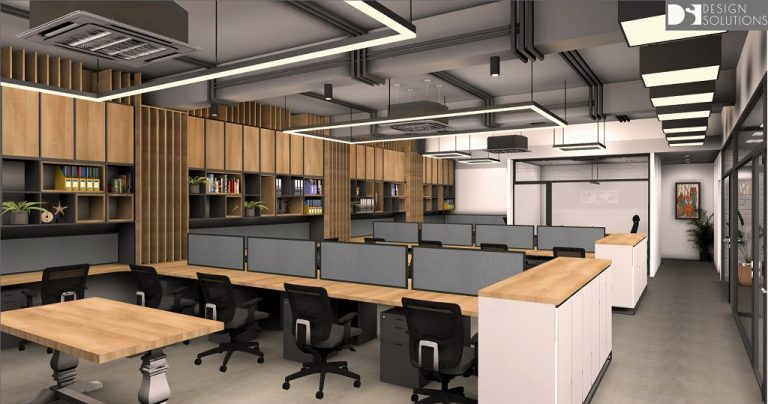 Corporate Office T Merchandising Work Station